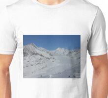 Aletsch glacier in Switzerland Unisex T-Shirt