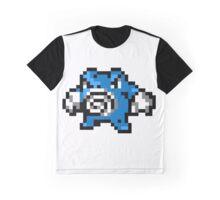 Pokemon 8-Bit Pixel Poliwrath 062 Graphic T-Shirt