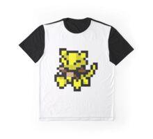 Pokemon 8-Bit Pixel Abra 063 Graphic T-Shirt