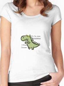 Dinosaur Women's Fitted Scoop T-Shirt