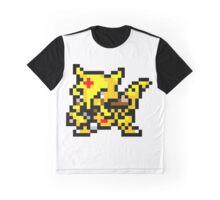 Pokemon 8-Bit Pixel Kadabra 064 Graphic T-Shirt