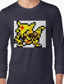 Pokemon 8-Bit Pixel Kadabra 064 Long Sleeve T-Shirt