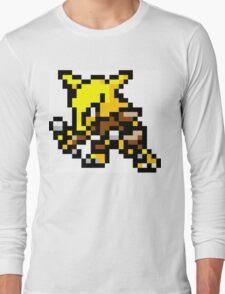 Pokemon 8-Bit Pixel Alakazam 065 Long Sleeve T-Shirt