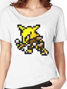 Pokemon 8-Bit Pixel Alakazam 065 Women's Relaxed Fit T-Shirt
