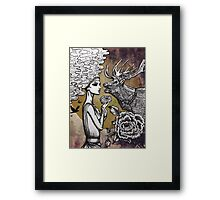 The Lonely Goddess Framed Print