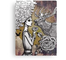 The Lonely Goddess Metal Print