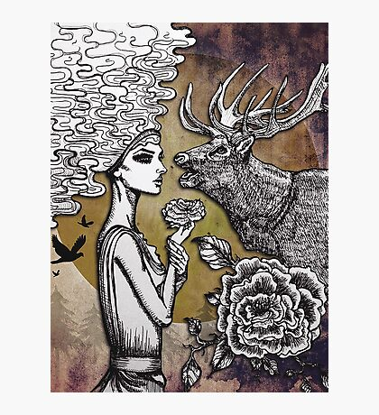 The Lonely Goddess Photographic Print
