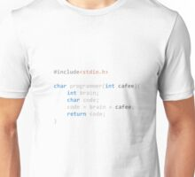 The Programmer function Unisex T-Shirt
