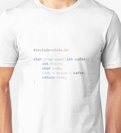The Programmer function Unisex T-Shirt