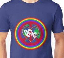 Peace on earth (rainbow) Unisex T-Shirt
