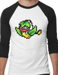 Pokemon 8-Bit Pixel Victreebel 071 Men's Baseball ¾ T-Shirt