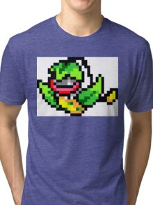Pokemon 8-Bit Pixel Victreebel 071 Tri-blend T-Shirt