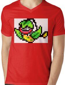 Pokemon 8-Bit Pixel Victreebel 071 Mens V-Neck T-Shirt