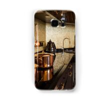 copper pans on the stove Samsung Galaxy Case/Skin