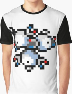 Pokemon 8-Bit Pixel Magneton 082 Graphic T-Shirt
