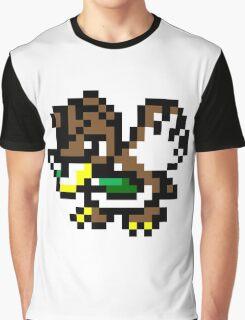 Pokemon 8-Bit Pixel Farfetch'd 083 Graphic T-Shirt