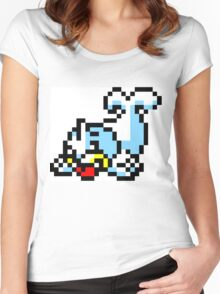 Pokemon 8-Bit Pixel Seel 086 Women's Fitted Scoop T-Shirt