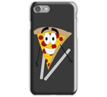Skiing Pizza iPhone Case/Skin