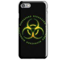 Green Biohazard Sign iPhone Case/Skin