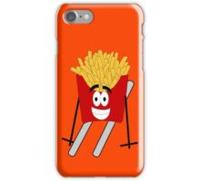 Skiing - French Fry iPhone Case/Skin