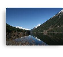 Pretty lake in British Columbia, Canada Canvas Print