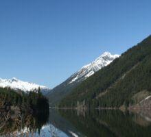 Pretty lake in British Columbia, Canada Sticker