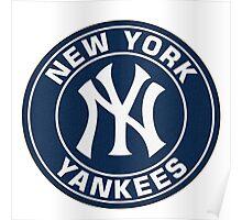 New York Yankees logo team Poster