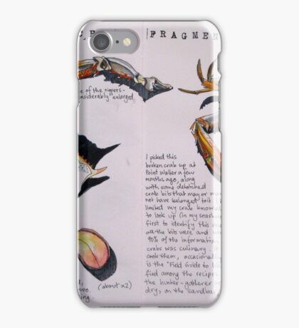 Crab Fragments iPhone Case/Skin