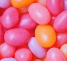 jelly beans pastel Easter candy jellybeans Sticker