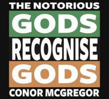 Conor Mcgregor, Gods Recognise Gods One Piece - Short Sleeve