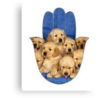 Puppy Hamsa Canvas Print
