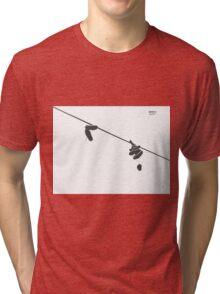 Behind an History / Detras de una Historia Tri-blend T-Shirt