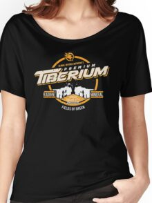 GDI Yellow - Tiberium - Damaged Women's Relaxed Fit T-Shirt