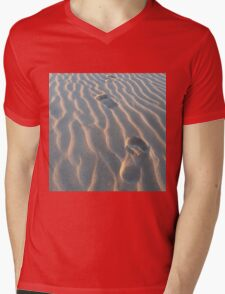 Walking on the beach - Gerroa, NSW - Australia Mens V-Neck T-Shirt