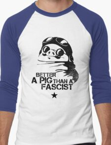 Porco Guevara Men's Baseball ¾ T-Shirt