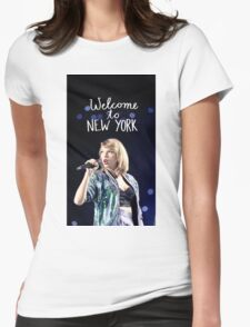 Taylor Swift Welcome to New York Womens Fitted T-Shirt