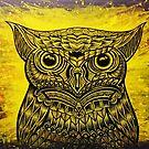 Space Owl by NADYA PUSPA