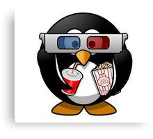 Movie Film Cinema Popcorn Canvas Print