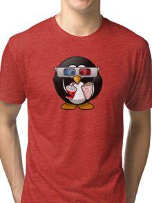 Movie Film Cinema Popcorn Tri-blend T-Shirt