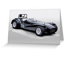 1962 Lotus Super 7 Vintage Racecar Greeting Card