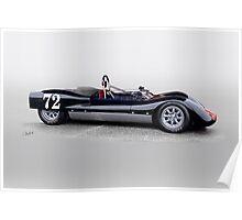 1963 Genie Mk 3 Vintage Racecar II Poster