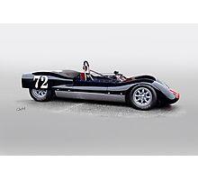 1963 Genie Mk 3 Vintage Racecar II Photographic Print