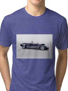 1963 Genie Mk 3 Vintage Racecar II Tri-blend T-Shirt