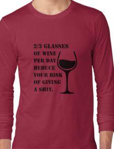 WINE IS GOOD  Long Sleeve T-Shirt