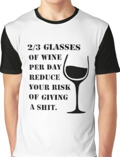 WINE IS GOOD  Graphic T-Shirt