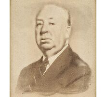 Alfred Hitchcock by John Springfield Photographic Print