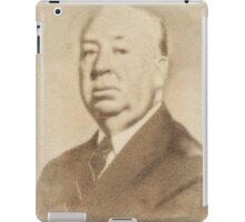 Alfred Hitchcock by John Springfield iPad Case/Skin