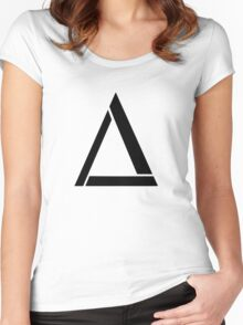 Alt- J Triangle Women's Fitted Scoop T-Shirt
