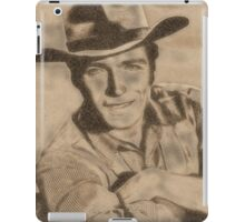 Clint Eastwood Hollywood Icon by John Springfield iPad Case/Skin