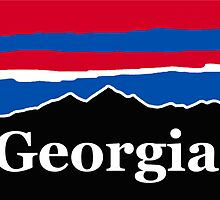 Georgia Red White and Blue by AdventureFinder